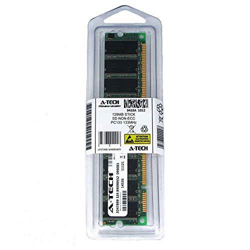 128MB Stick DIMM SD Non-ECC PC133 133 133MHz 133 MHz SDRam 128 128M Ram Memory