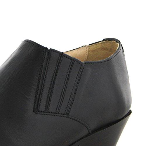 Unisex Negro De adulto Boots4133 Sendra Vaquero Botas xwSqIwZR
