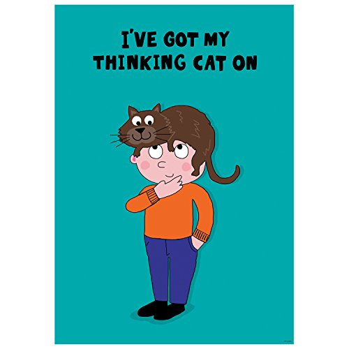 Creative Teaching Press So Much Pun! I've Got My Thinking Cat On Inspire U Poster (8479)