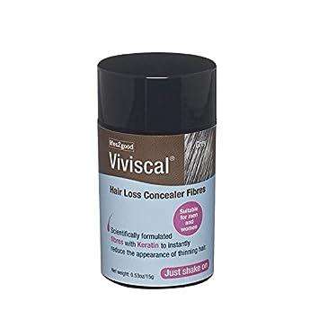 Amazon.com: Viviscal Hair Loss Concealer Fibres Grey: Beauty