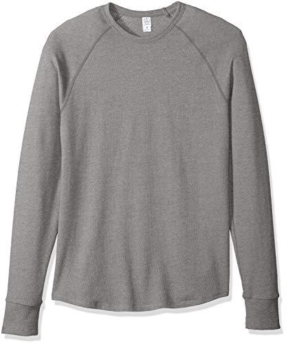 - Alternative Men's Kick Back Pullover, Smoke Grey, Medium