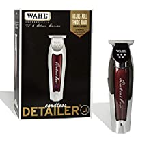 From Wahl Professional's commercial grade line of products, the Wahl Professional 5-Star Series Lithium-Ion Cord/Cordless Detailer Li is intended for professional use only and is designed to deliver the sharp performance that experts demand. ...