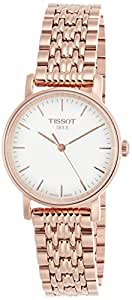 TISSOT EVERYTIME SMALL WHITE DIAL LADIES ROSE GOLD TONE WATCH