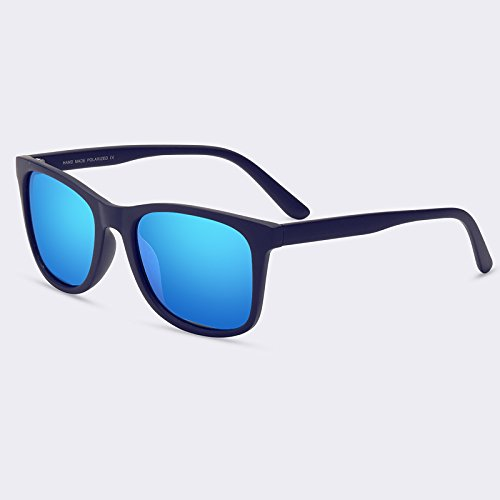 Mens Vintage gafas de de TIANLIANG04 polarizadas sol macho lente sol C04Blue C01gris HD Gafas tpIxfF
