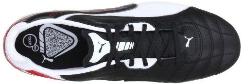 Puma Momentta SG - Botas de fútbol para hombre Schwarz (black-white-ribbon red 02) (Schwarz (black-white-ribbon red 02))