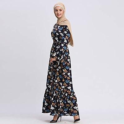 3c1cc4ac33 LILICAT✈✈ 2019 Bata de Verano Elegante Vestido Largo túnica ...