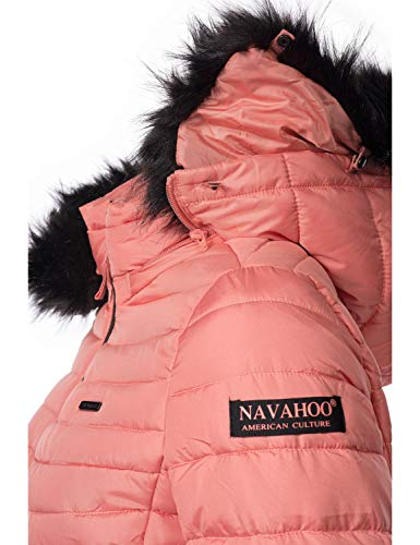 Couleurs Navahoo Femme Veste Corail Pour Arana xxl Xs 10 Matelassée YwqaYxr