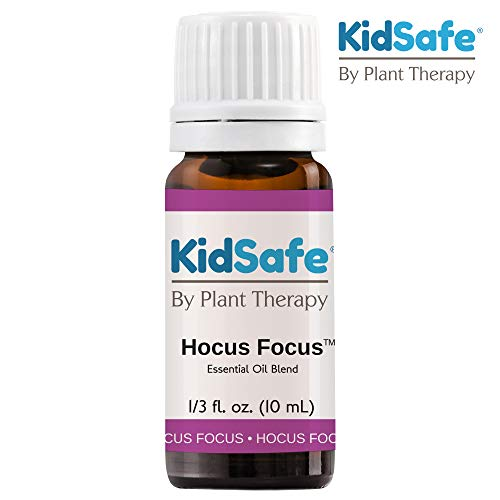 Plant Therapy KidSafe Hocus Focus Essential Oil Blend 10 mL (1/3 oz) Pure, Undiluted, Therapeutic Grade - Kids Blend for Focus