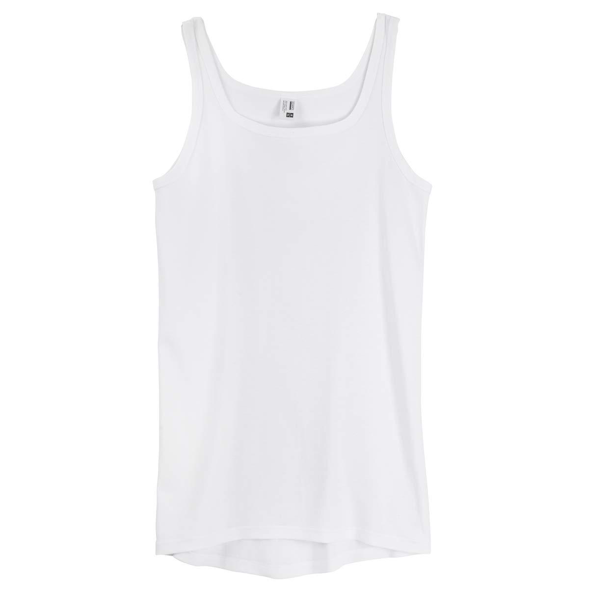 4fae7881c075b Débardeur Hommes Grande Taille Blanc Adamo Fashion: Amazon.fr ...