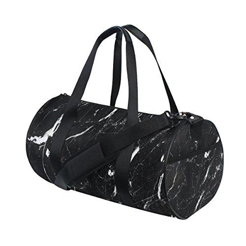 black white marble pattern gym