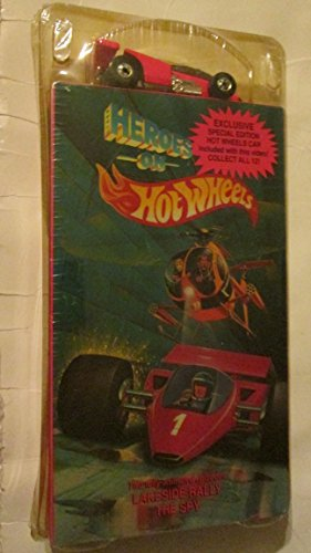 HEROES on Hot Wheels: Exclusive Special Edition HOT WHEELS CAR & Video (Episodes: Lakeside Rally, The Spy)