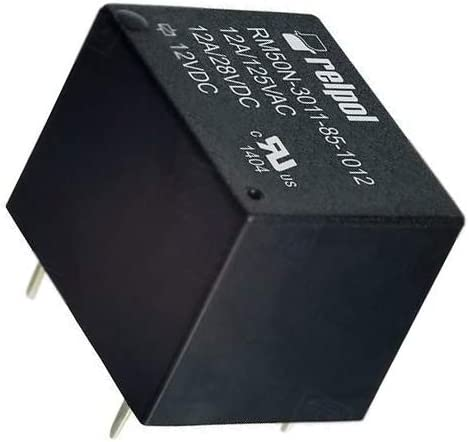 2X RM50N-3011-85-1012 Relay electromagnetic SPDT Ucoil 12VDC 12A//125VAC 12A//28