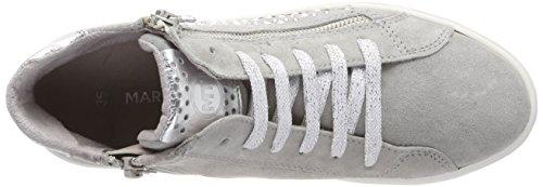 Sneaker Grigio Comb Donna Alto A Collo Premio 25206 Tozzi grey Marco 1w8gt1