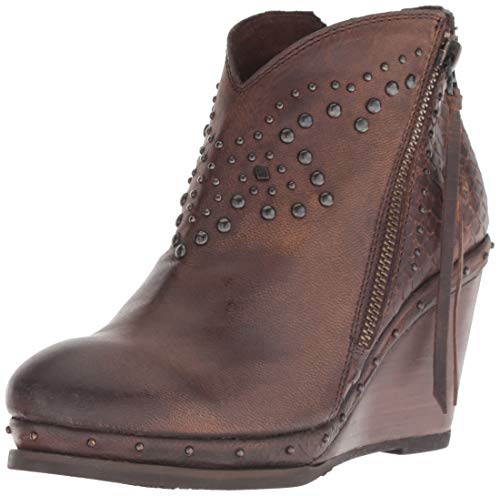 (Ariat Women's STAX Boot, weathered russet, 10 B US)