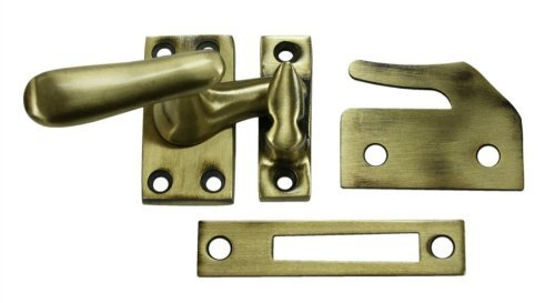 Deltana CF66U10B Casement Fastener Window Lock, - Style Window Casement