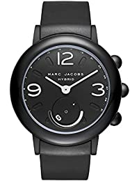 Women's Riley Aluminum and Rubber Hybrid Smartwatch, Color: Black (MJT1002)