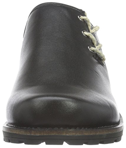 Andrea Conti 3610509 - Mocasines para hombre Negro (Schwarz 002)