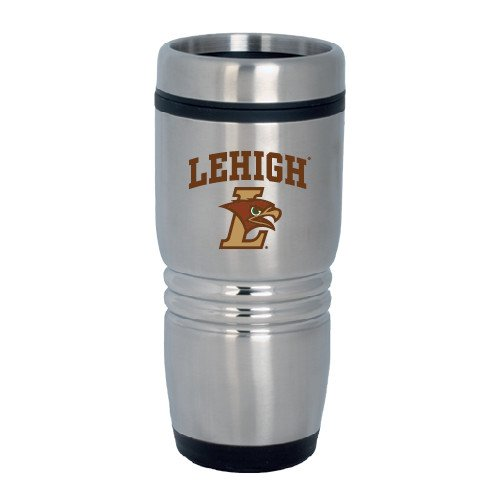 Lehigh Rolling Ridges Silver Stainless Tumbler 16oz 'Official Logo' by CollegeFanGear