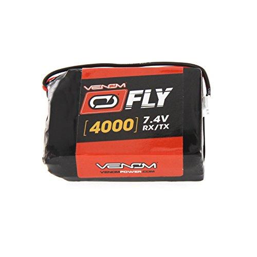 Venom Spektrum DX9/DX7S/DX8/DX6 Gen 2/3 4000mAh 7.4V Transmitter LiPo Battery ()