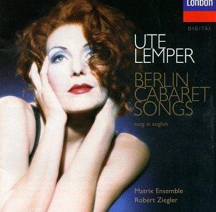 Ute Lemper - Berlin Cabaret - Berlin Shopping