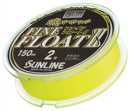 Sunline 60170770 Siglon Fine Float Ii P-Ion 16 Lb. Siglon Fine Float Ii P-Ion, Vivid Yellow, 165 yd