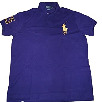 MENS Ralph Lauren Limited Edition Gold Pony Polo Shirts  Amazon.co ... 0eab449590