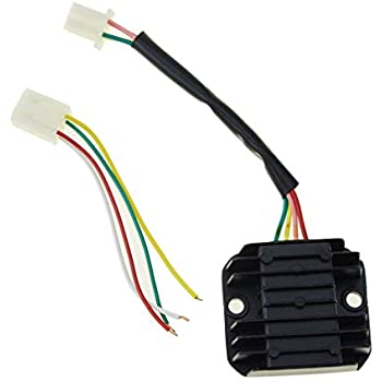 Amazon.com: Voltage Regulator Rectifier 4 Pin for Dazon ... on