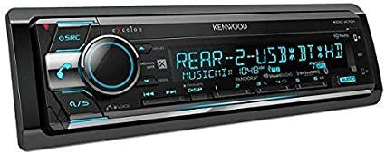 Kenwood KDC-X898 Excelon in-Dash CD Receiver with Built-in Bluetooth