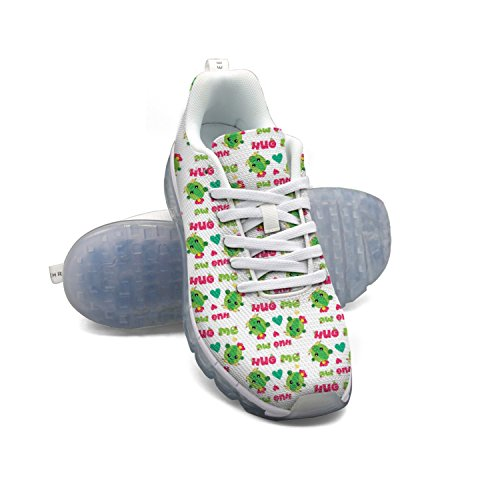 best prices sale online FAAERD Cactus Hugs Cactus Love Cute Cacti Hug Me Men's Fashion Lightweight Mesh Air Cushion Sneakers Gym Shoes free shipping eastbay popular cheap online outlet cost 43ZBx