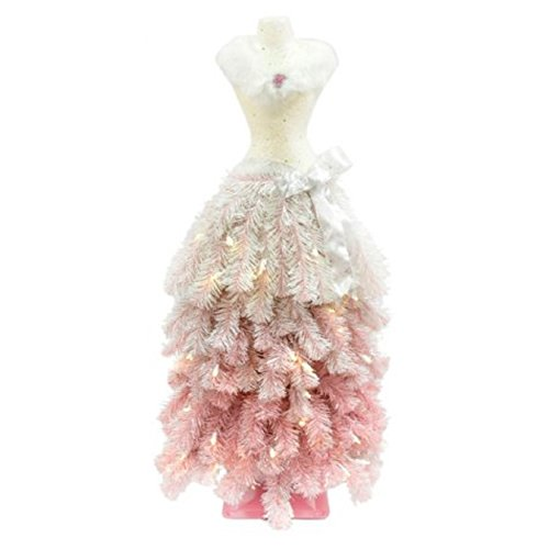 Premium 3' Dress Form Holiday Christmas Tree Mini Mannequin PINK OMBRE by MM