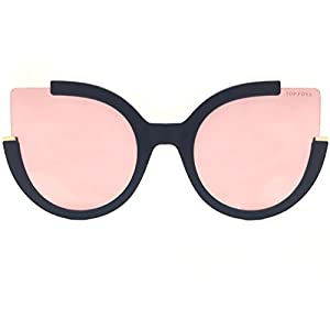 TopFoxx Chloe High Fashion Cateye Sunglasses for Women