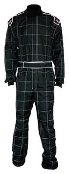 K1 Race Gear 10043010 Black XXXXXXX-Small Level 2 Evo X Karting Suit