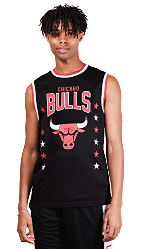 Ultra Game NBA Men's Sleeveless Jersey Tank Top Tee Shirt