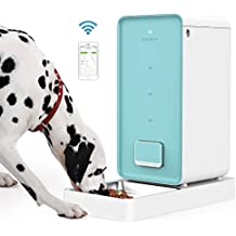 PETKIT Automatic Pet Feeder for Dog Cat, 5.9 Liter Auto Smart Dog Feeder Dispenser, A Never Stuck Feeder Double Fresh Lock System, Wi-Fi Enabled App for Android, iOS and Compatible with Alexa