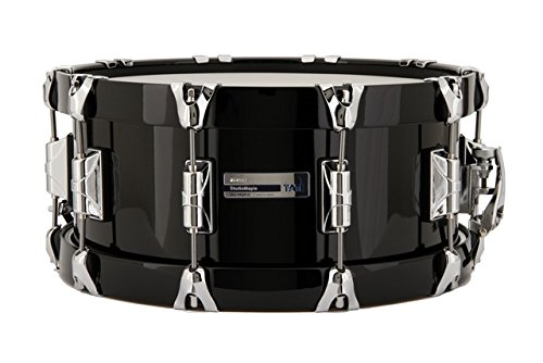Taye SM1406SWB-PB 14 x 7 in. Studiomaple Woodhoop Snare Drum44; Piano Black & Black by Taye