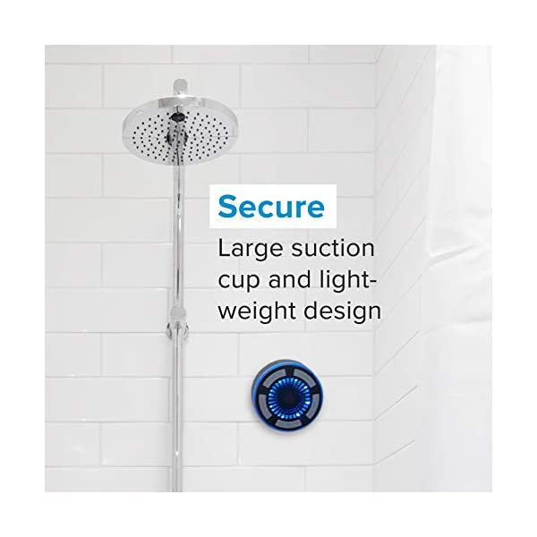 Bluetooth Shower Speaker Suction Cup by Johns Avenue
