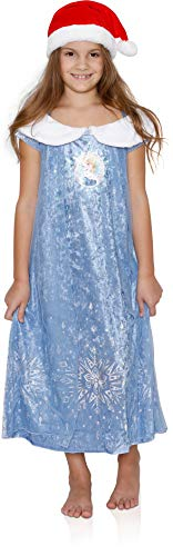 Disney Girls' Fantasy Nightgowns, Frozen with a Hat, Size 6
