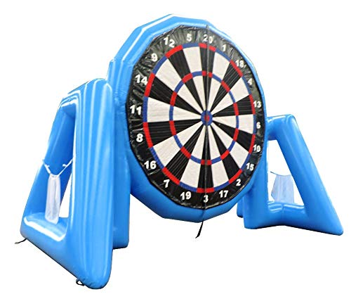 Sealed Air Dart and Golf Frame Game Sticky Wall Inflatable Dart Board & Golf Game for Parties, Events, and Outdoor Gatherings