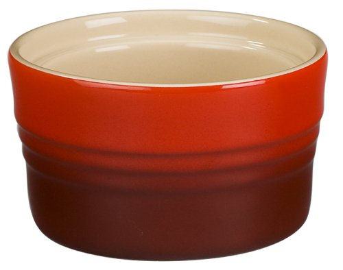 Le Creuset Stoneware 7-Ounce Stackable Ramekin, Cerise (Cherry Red)