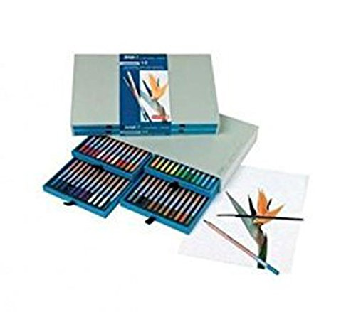 Aquarelle Set Pencil - Royal Talens Bruynzeel Aquarelle Pencil Box Set, 48 Assorted Colors (8835H48)