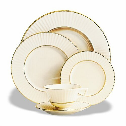Citation Lace - Lenox Citation Lace Gold Banded Ivory China Cup