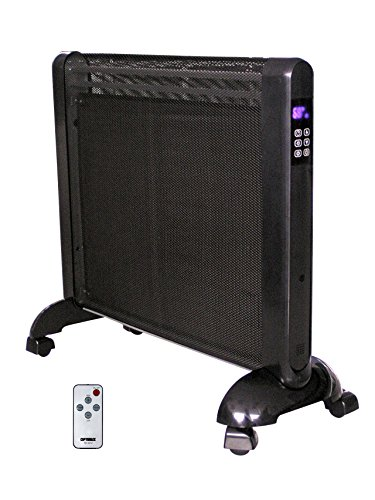 Optimus H-8412 Micathermic Flat-Panel Heater with Remote ...