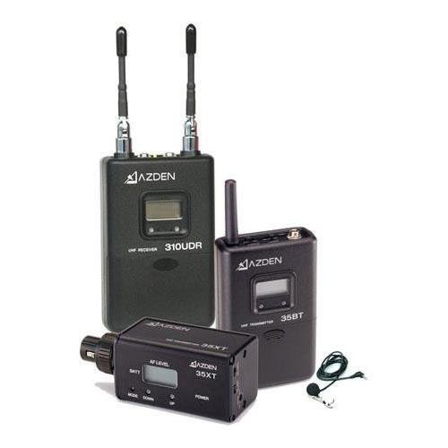 Azden 310ULX Wireless Lavalier Microphone [並行輸入品]   B07MRBKWNG
