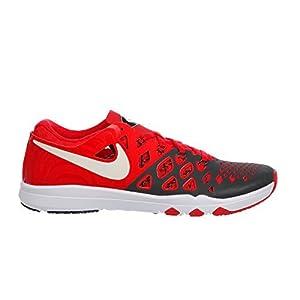 NIKE Men's Train Speed 4 Training Shoe (10 D(M) US, Universite Rouge/Noir/Blanc)