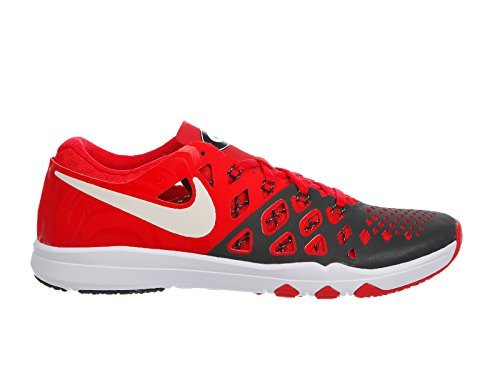 Nike Mens Train Speed 4 Training Shoe (10 D(M) US, Universite Rouge/Noir/Blanc) (Rouge Noir)