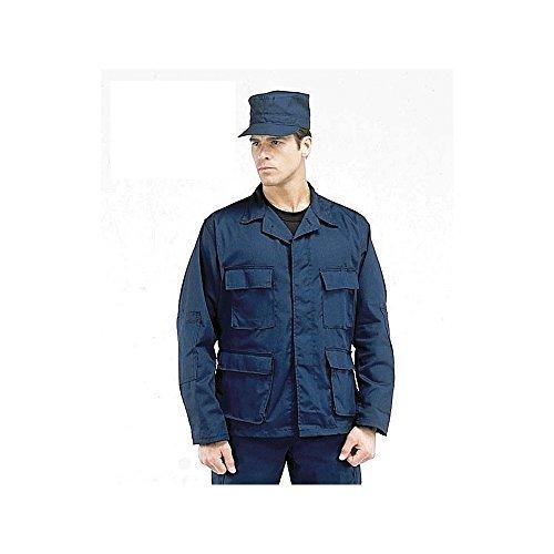 Navy Blue Bdu Shirt - 8