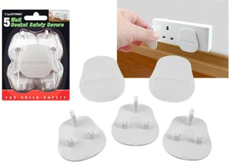 5 pack 5 10 OR 20 PACK BABY CHILD PROTECTION HOME SAFETY WALL PLUG SOCKET COVERS