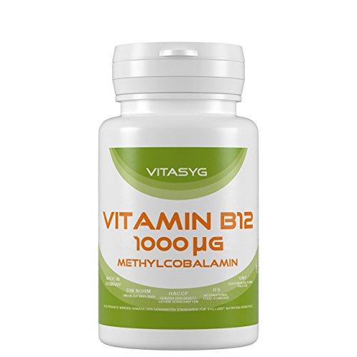 Vitasyg Vitamin B12 Methylcobalamin hochdosiert 1000 µg - 365 Tabletten