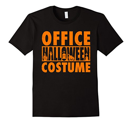 Office Halloween Costumes (Mens This Is My Office Halloween Costume T-shirt Parody Work 2XL Black)