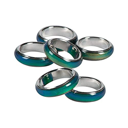 Mood Ring Bands (1 Dozen) - BULK -